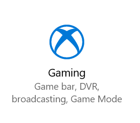 Gaming Settings icon