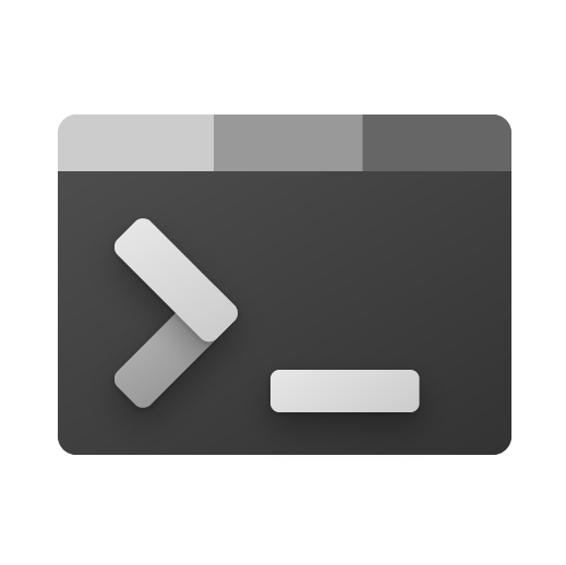 Windows Terminal app icon.