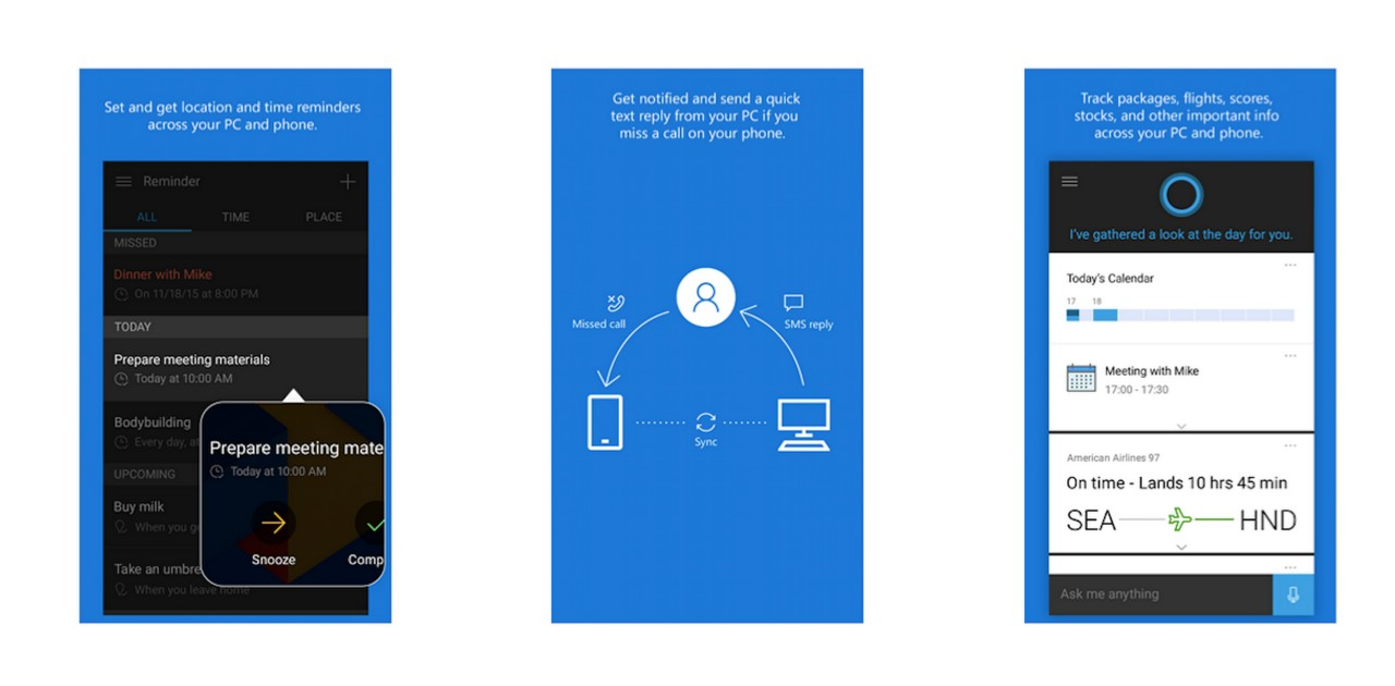 Cortana: Now available here and when you need her, no matter what smartphone you choose