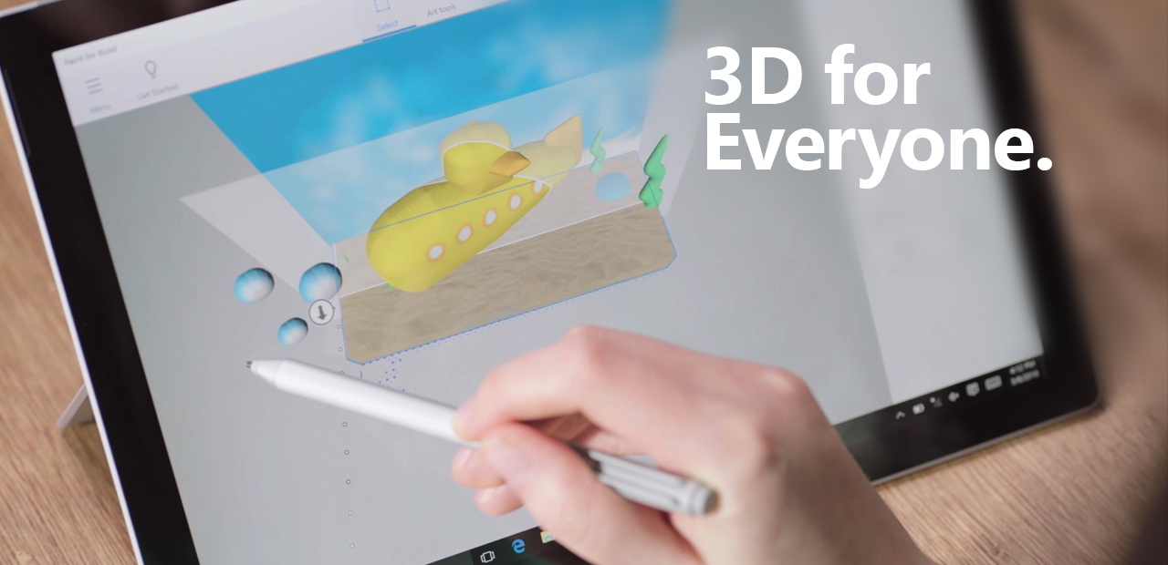3D in Windows 10